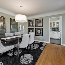 Contemporary Dining Room by Color Me Sold Home Staging