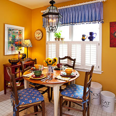 Traditional Dining Room by Urso Designs