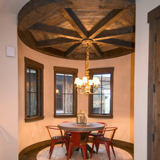 Rustic Dining Room by Trestlewood