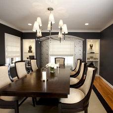 Contemporary Dining Room by Beth Dotolo, ASID, RID, NCIDQ