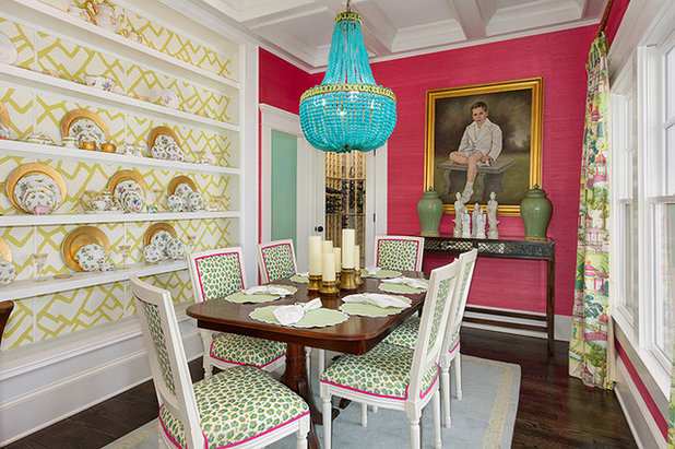 Eclectic Dining Room by Colordrunk Designs