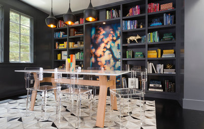 Houzz Tour: Thoroughly Modern and Family Friendly