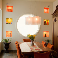 Eclectic Dining Room Colorful Dining Room