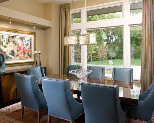 Blue Velvet Dining Chairs | Houzz