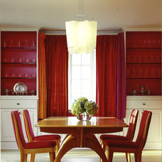 Eclectic Dining Room by Morgante Wilson Architects