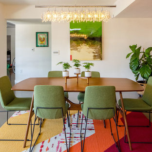 EmailSave. Colorful Modern Dining Area