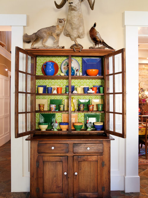 Best Wallpaper Cabinets Design Ideas & Remodel Pictures | Houzz