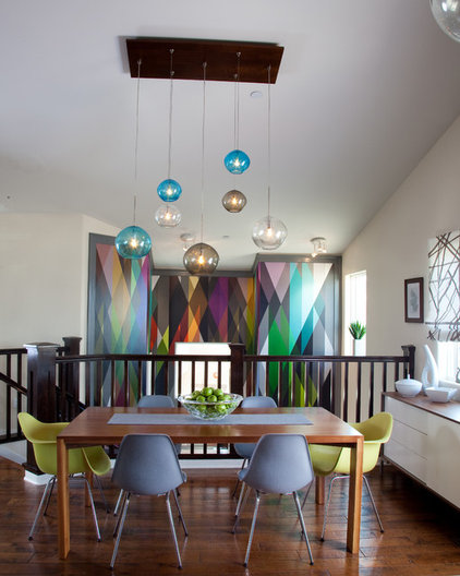 Contemporary Dining Room by Kropat Interior Design