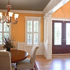 Traditional Dining Room by Artistic Design and Construction, Inc