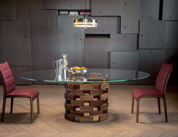 Colosseo Rectangular Dining Table by Tonin Casa