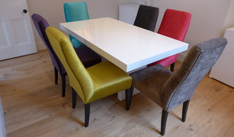 colourful dining chairs in different vibrant colours
