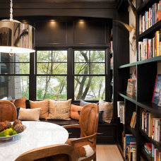 Transitional Family Room by Kyle Hunt & Partners, Incorporated