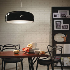 Eclectic Dining Room by Lumens