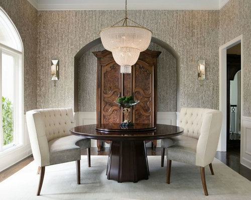 Curved Bench Dining Room Ideas Photos