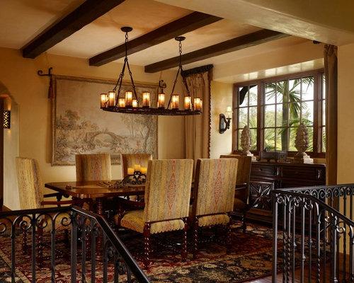 Best Mediterranean Dining Room Design Ideas & Remodel Pictures | Houzz