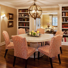 Traditional Dining Room by Landy Plante Interiors