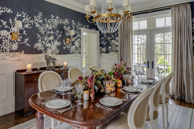 Country Dining Room by Patrick Ahearn Architect