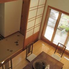 Asian Dining Room by Tali Hardonag Architect