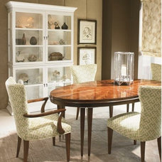 Traditional Dining Room by Cadieux Interiors