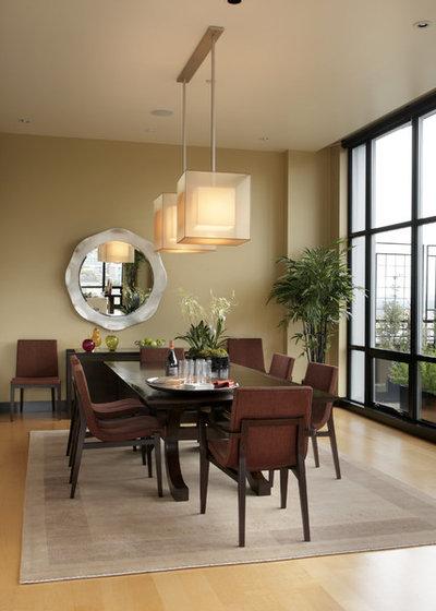 Modern Dining Room by Olson & Jones