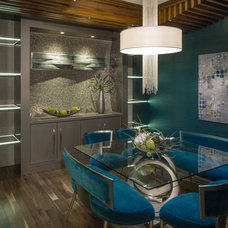 Contemporary Dining Room by Artistico