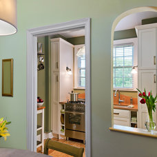 Transitional Dining Room by CARNEMARK