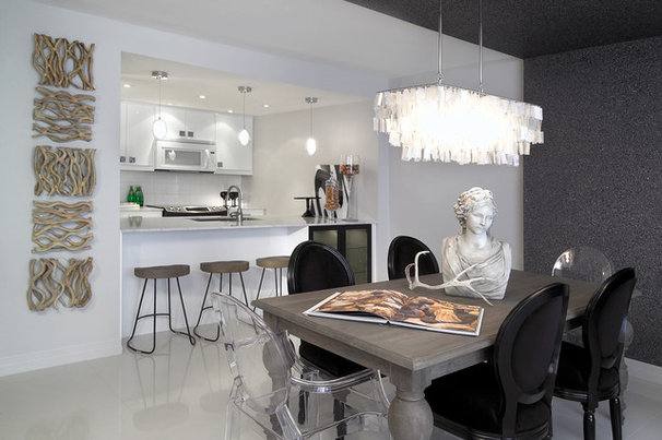 Contemporary Dining Room by Arnal Photography