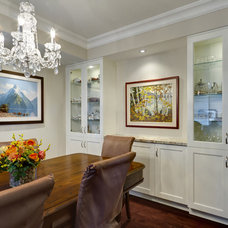 Traditional Dining Room by Davisville Kitchens