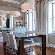 Contemporary Dining Room by S&K Interiors