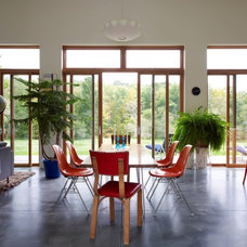 Modern Dining Room by Incorporated