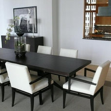 Contemporary Dining Room by CF Raines Interior Design