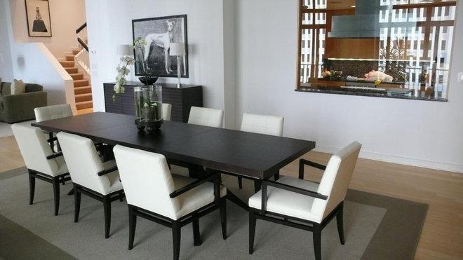Contemporary Dining Room by CF Raines Interior Design