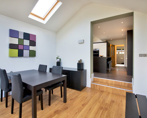 This Is An Example Of A Medium Sized Contemporary And Modern Enclosed Dining  Room In Manchester