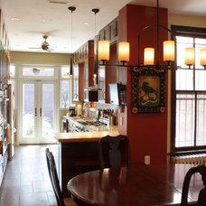 Traditional Dining Room by Tektonics Architecture