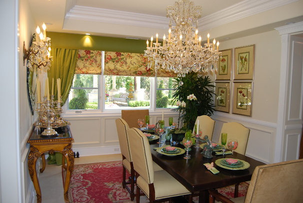 Traditional Dining Room by Sienna Blanca Design, Inc.
