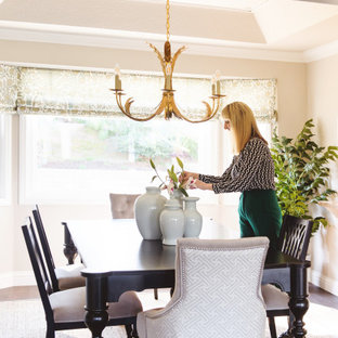 Contempo British Colonial Dining Room