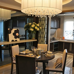 contemporary dining room by Artdecotek & a.d.t Pro