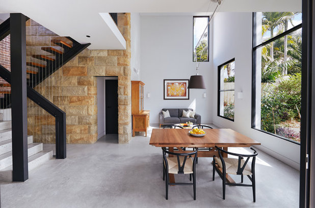 Contemporary Dining Room by Danny Broe Architect