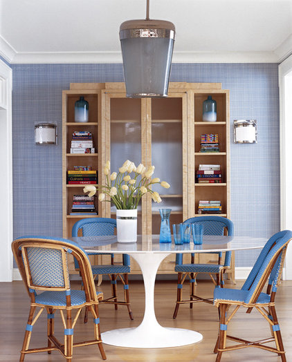 Contemporary Dining Room by Anthony Baratta LLC