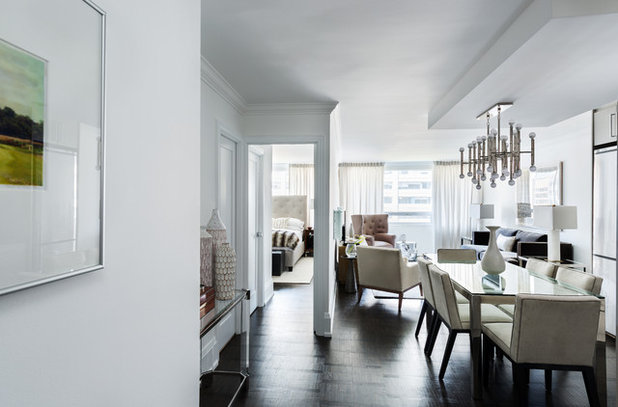 Contemporary Dining Room by Toronto Interior Design Group | Yanic Simard