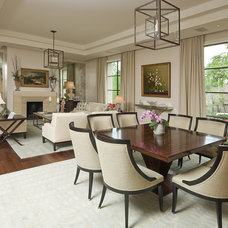 Contemporary Dining Room by Jack Arnold Companies