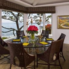 Contemporary Dining Room by Harte Brownlee & Associates Interior Design