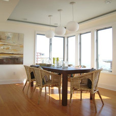 Beach Style Dining Room by Lori Dennis, Inc.