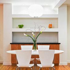 Contemporary Dining Room by AB design studio inc.