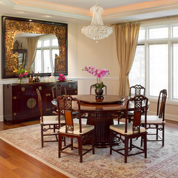 Contemporary Chinese Style Dining Room