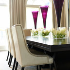 Hudson Residence Transitional Dining Room Montreal