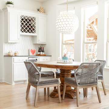 Contemporary Coastal, Dining Room