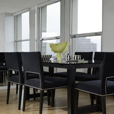 Contemporary Dining Room by Interiors by Mary Susan