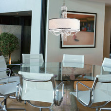 Contemporary Dining Room by We Got Lites