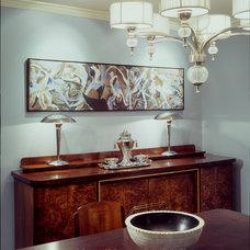 Contemporary Dining Room by Tilde Design Studio